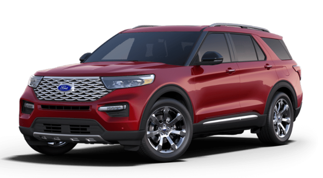 2020 Ford Explorer Platinum SUV for sale in Dallas